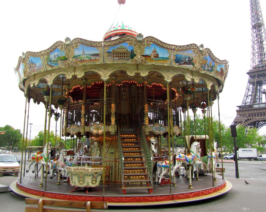 I fell in love with this carousel!