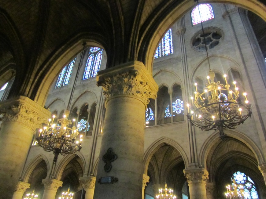 My favorite place in all of Paris - Cathédrale Notre Dame de Paris!