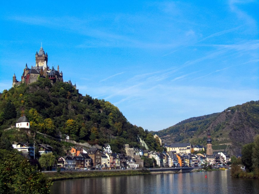 Cochem Castle on Mosel River, Germany